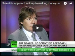 Russia Today: Scientific approach not key to making money – art dealer