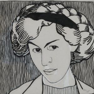 Portrait of Wanda Monastyrska