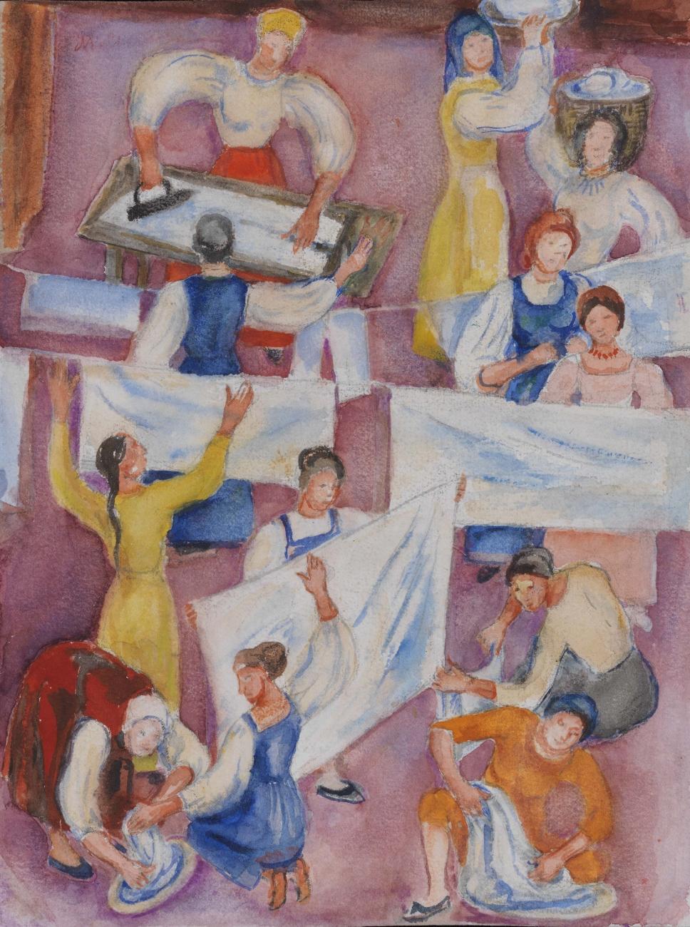 Washerwomen, 1971 - Maria Sinyakova