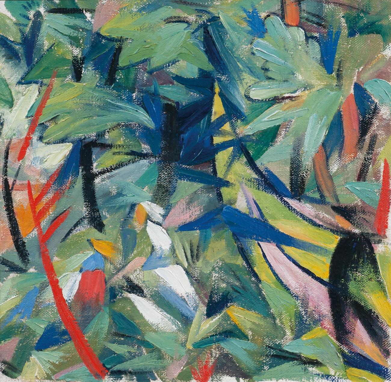 Rayonnist Composition – Spring, 1914 - Alexander Bogomazov