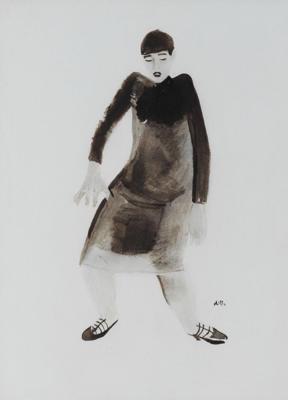 The Dancer Valeska Gert, 1929 - Alexander Deineka