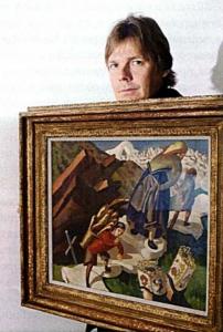 """Gasprombank: Джеймс Баттервик: """" Покупать искусство – это радость и удовольствие!"""""""