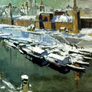 The Kremlin Under Snow