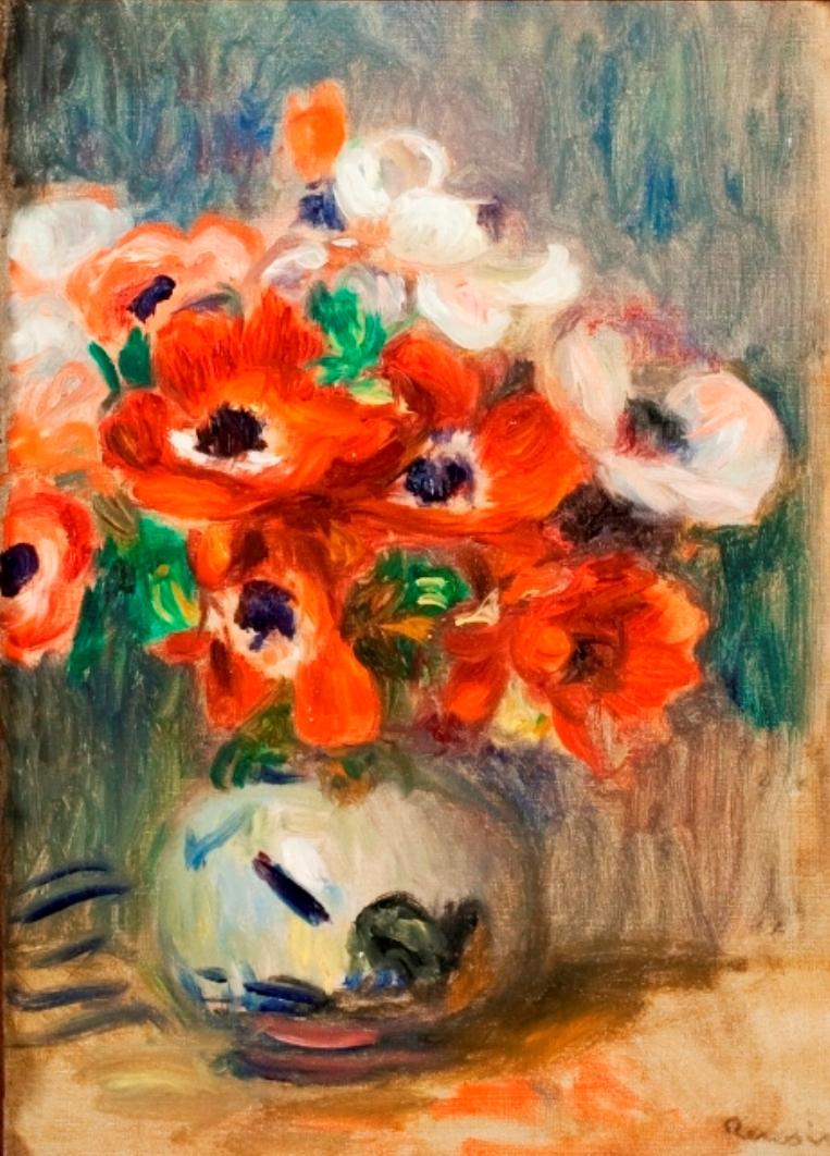 Anémones, 1905 - Pierre-Auguste Renoir