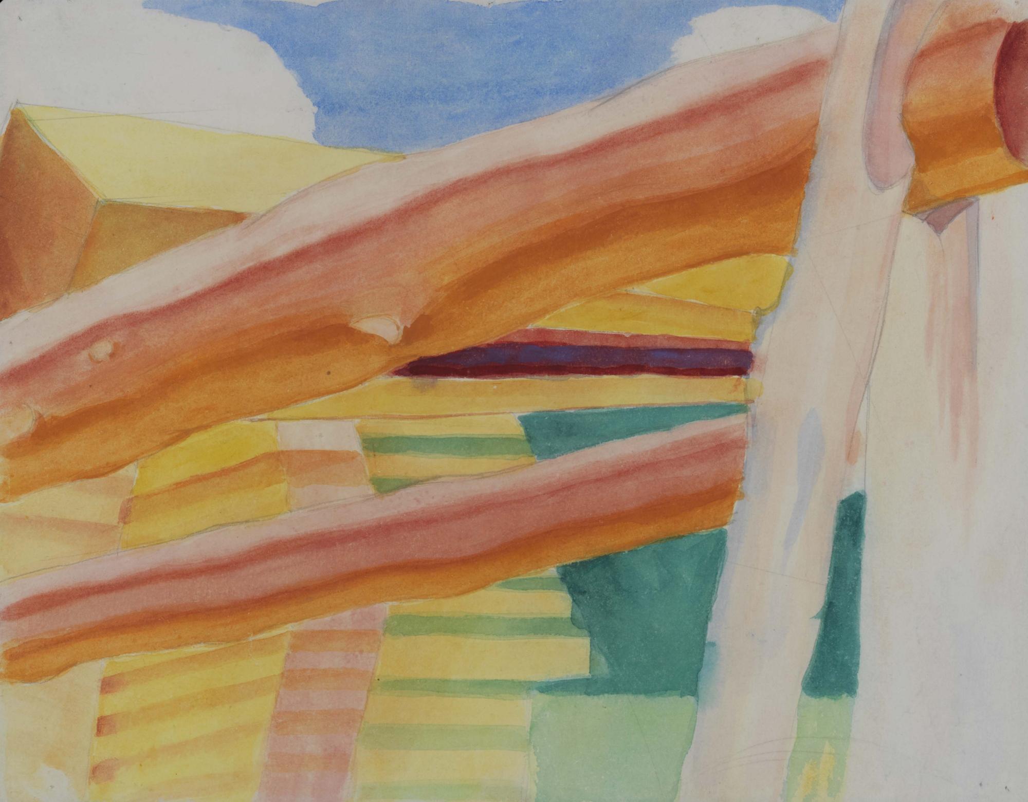 Study for Sawyers, 1928 - Alexander Bogomazov