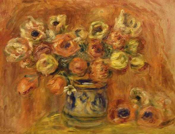 Bouquet de fleurs, c.1912 - Pierre-Auguste Renoir