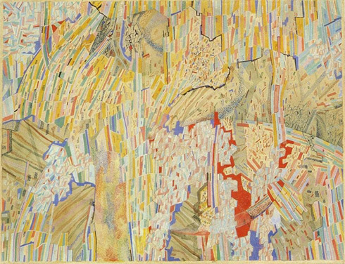 Composition, 1920s - Pavel Filonov