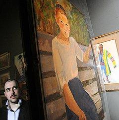 Kommersant: Игра отражений. Открылся Антикварный салон в ЦДХ