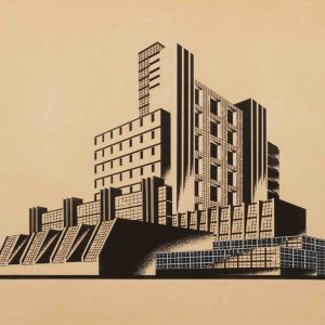 I-JA Synthetic Silk Factory (first variant) from the series The Construction of Architectural and Machine Forms
