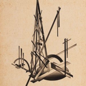 Nonconstructive Union of Planes from the series Fundamentals of Modern Architecture