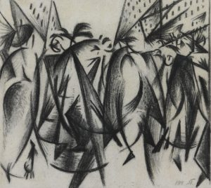 Press-Release: Four drawings by Alexander Bogomazov sold to the Kroller-Muller Museum at TEFAF