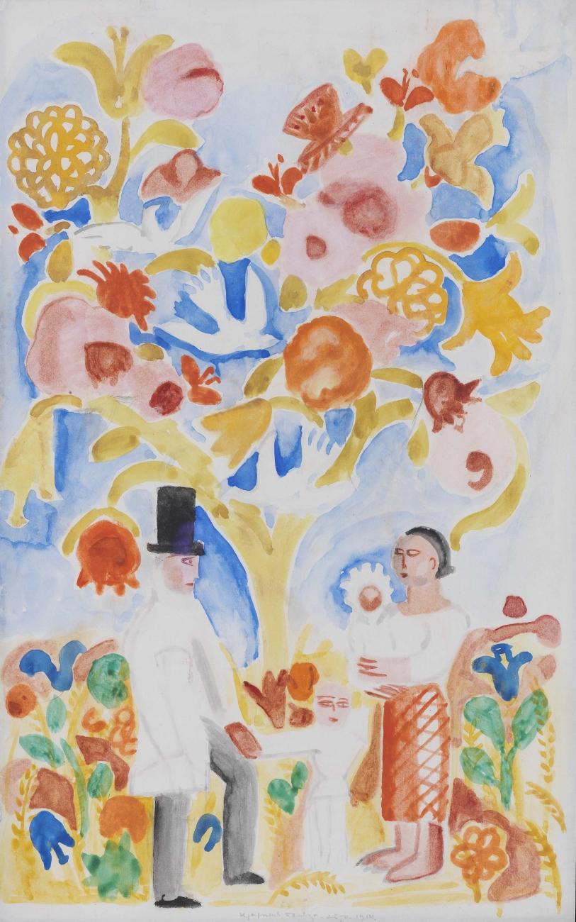 Tree of Life, 1914 - Maria Sinyakova