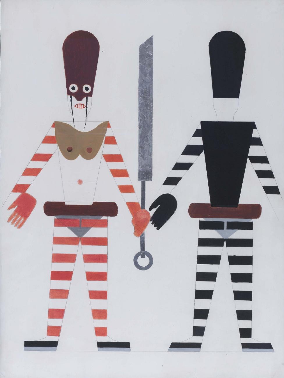 Costume design for Turandot, 1924 - Anatoly Petrytsky