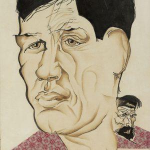 Portrait of the Poet Boris Kornilov