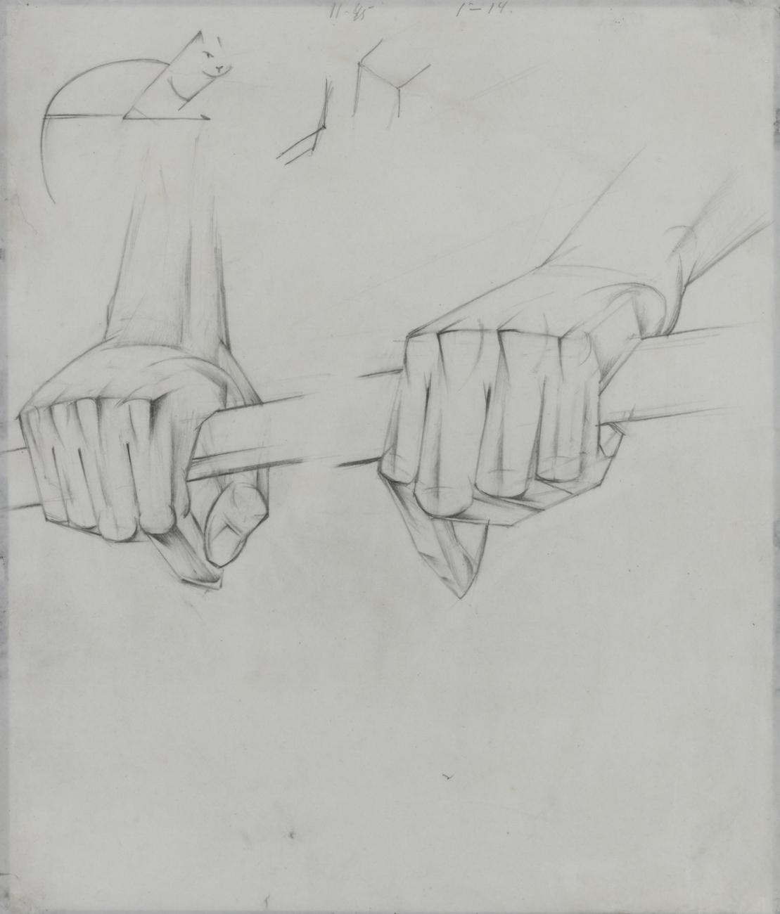 Hands, 1928-29 - Alexander Bogomazov