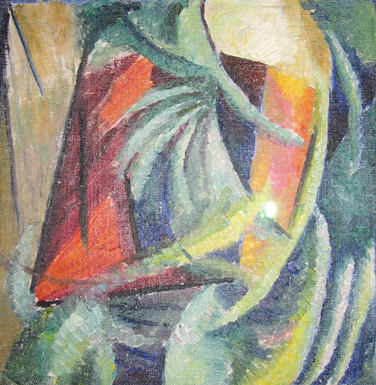 Absract composition, 1913-14 - Alexander Bogomazov