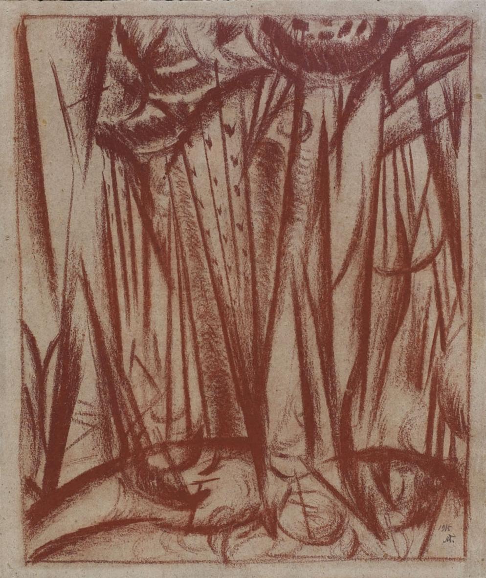 Forest, Boyarka, 1915 - Alexander Bogomazov