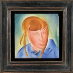 Portrait of the Artist's Daughter, Yaroslava, 1928 - Alexander Bogomazov