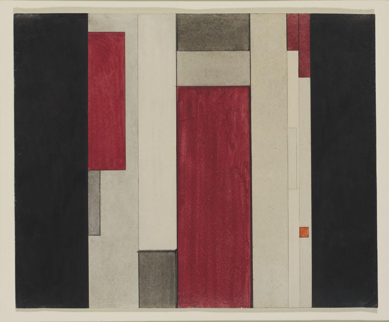 The Seventh Dimension, 1921-22 - Ilya Chashnik
