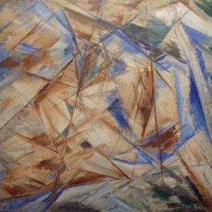 Blue Rayonnism (The Fool)