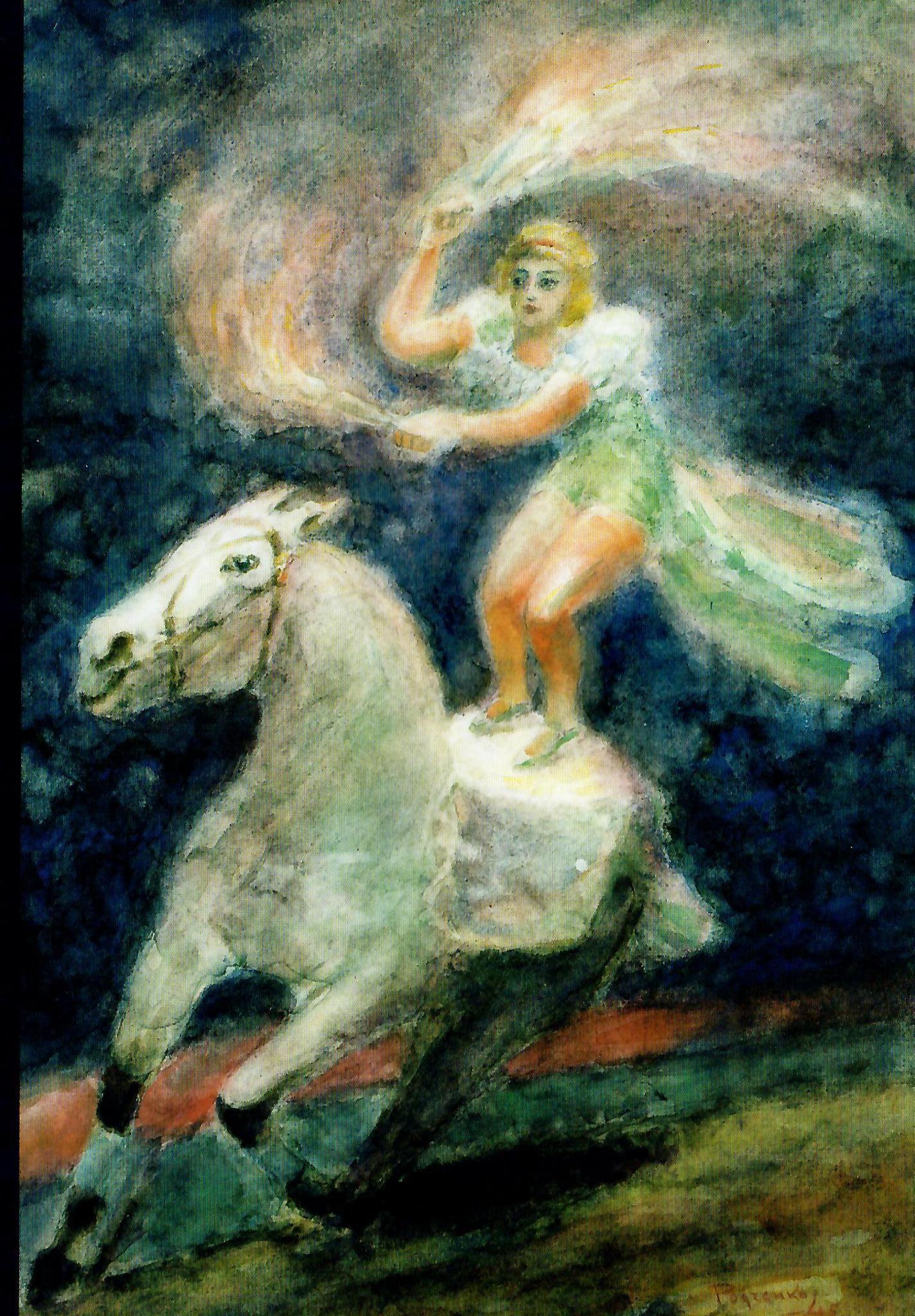Horseback Rider, 1948 - Alexander Rodchenko