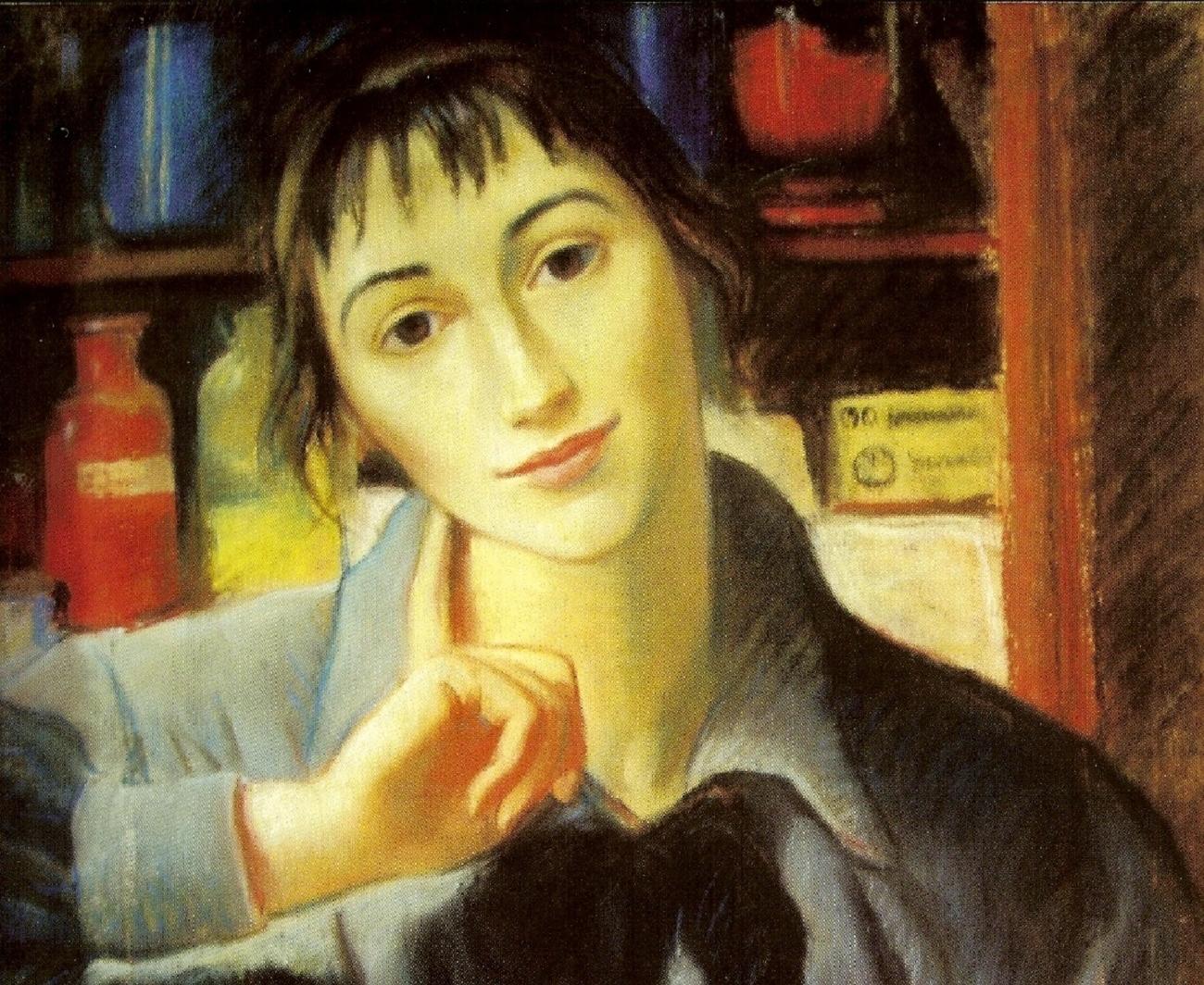 Self Portrait, 1924 - Zinaida Serebriakova