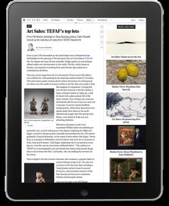 The Telegraph: Art Sales. TEFAF's top lots