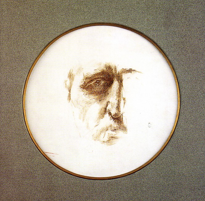 Self-Portrait, 1882-83 - Mikhail Vrubel