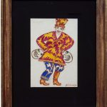 Young Jester, 1915 - Mikhail Larionov