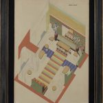 Design for a Recreation Room in the Kharkov Palace of Pioneers, 1932 - Vassily Ermilov