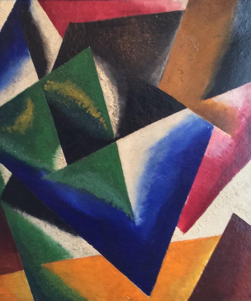 Architectronic Composition, 1918 - Liubov Popova