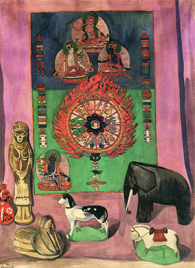 Buddhist Still Life, 1919 - Matiros Saryan