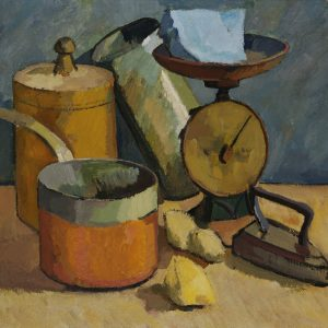 Still Life With Scales