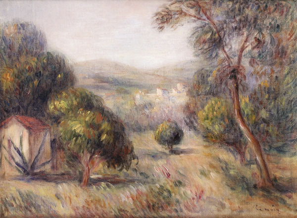 Landscape With Olive Trees, 1901 - Pierre-Auguste Renoir
