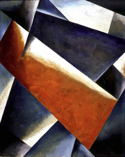 Painterly architectronic, 1918 - Liubov Popova