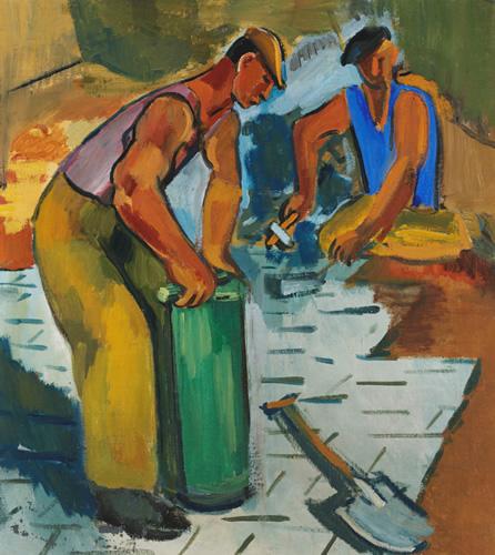 Roadworkers, 1933-34 - Alexander Rusakov