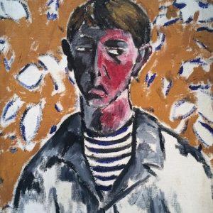 Study of a Head  (Portrait of Vladimir Tatlin in Seaman's Blouse)