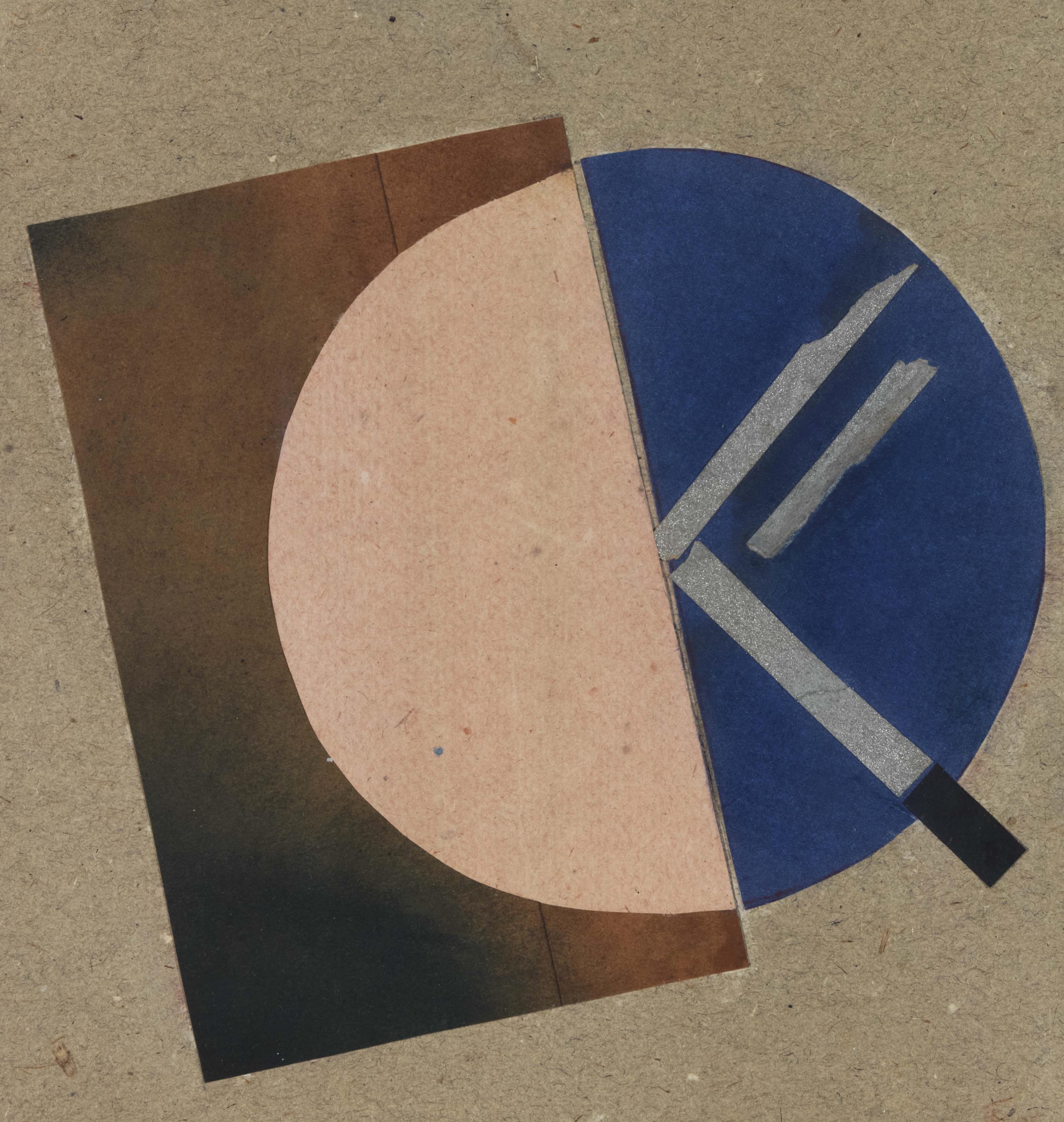 Suprematist composition, 1921 - Boris Kosarev