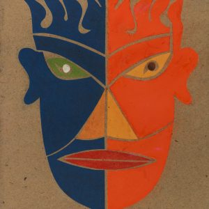 Mask for the Play Khubeane
