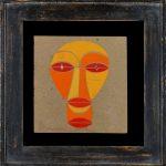 Mask for the Play Khubeane, 1923 - Boris Kosarev