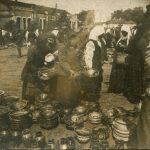 Scenes from the series 'Sorochinsky Market', 1929 - Boris Kosarev